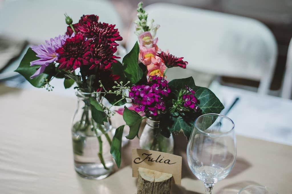 A Minimalist Vegan Wedding
