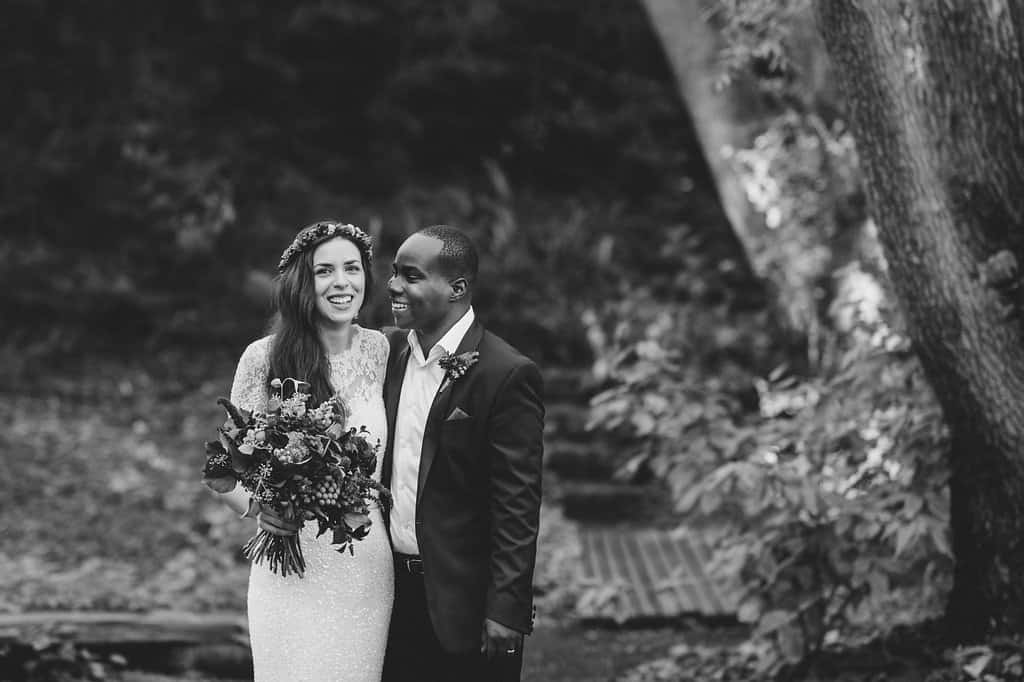 A Minimalist Vegan Wedding