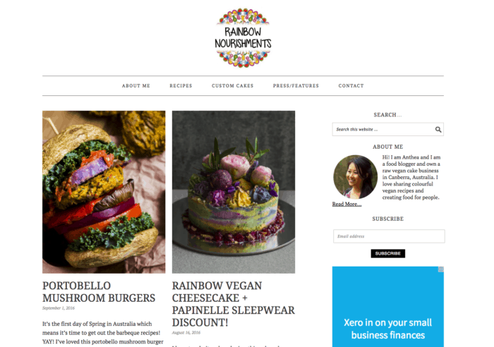 50 high quality vegan blogs worth following the minimalist vegan rainbow nourishments forumfinder Image collections