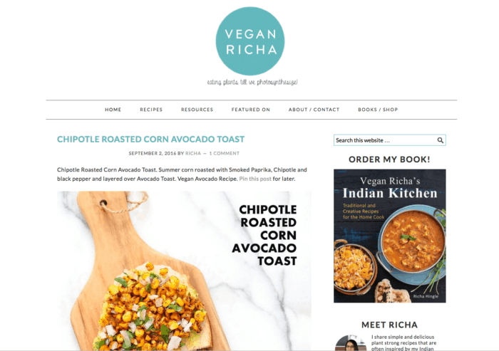 50 high quality vegan blogs worth following the minimalist vegan content plant based recipes forumfinder Gallery