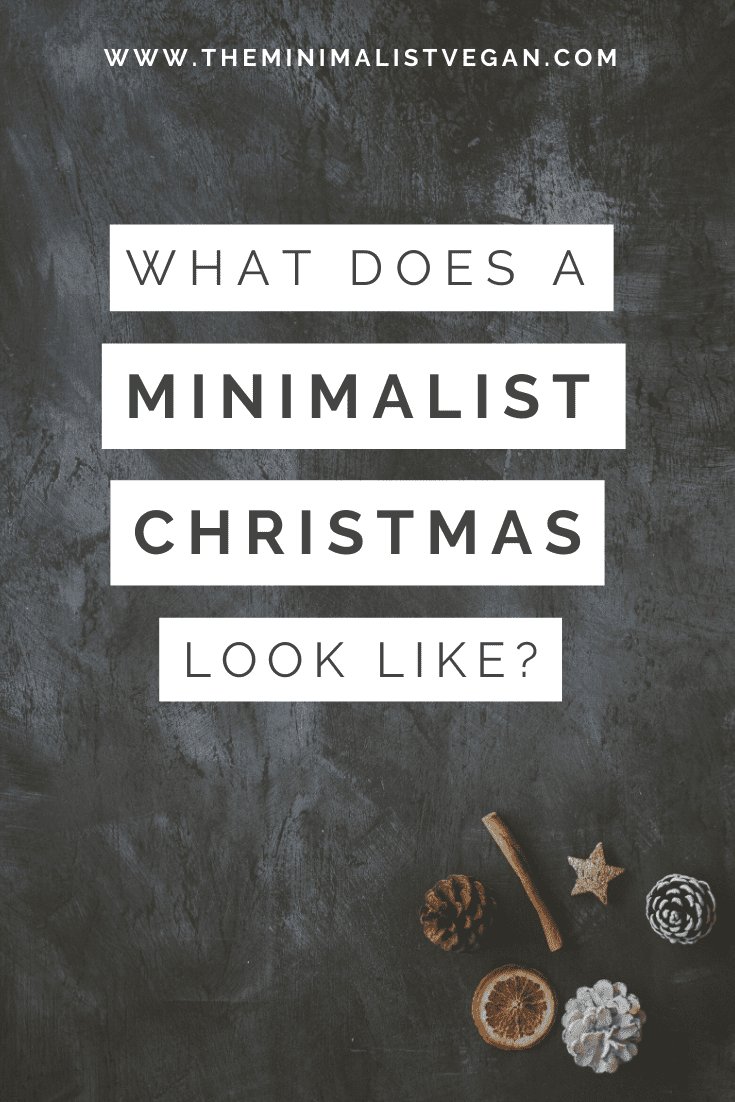 What Does a Minimalist Christmas Look Like