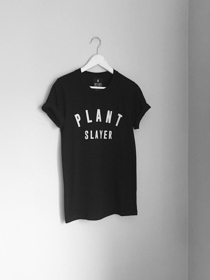 BEETxBEET Plant Slayer - vegan activist t-shirt