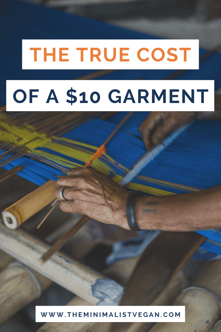 The True Cost of a  Garment