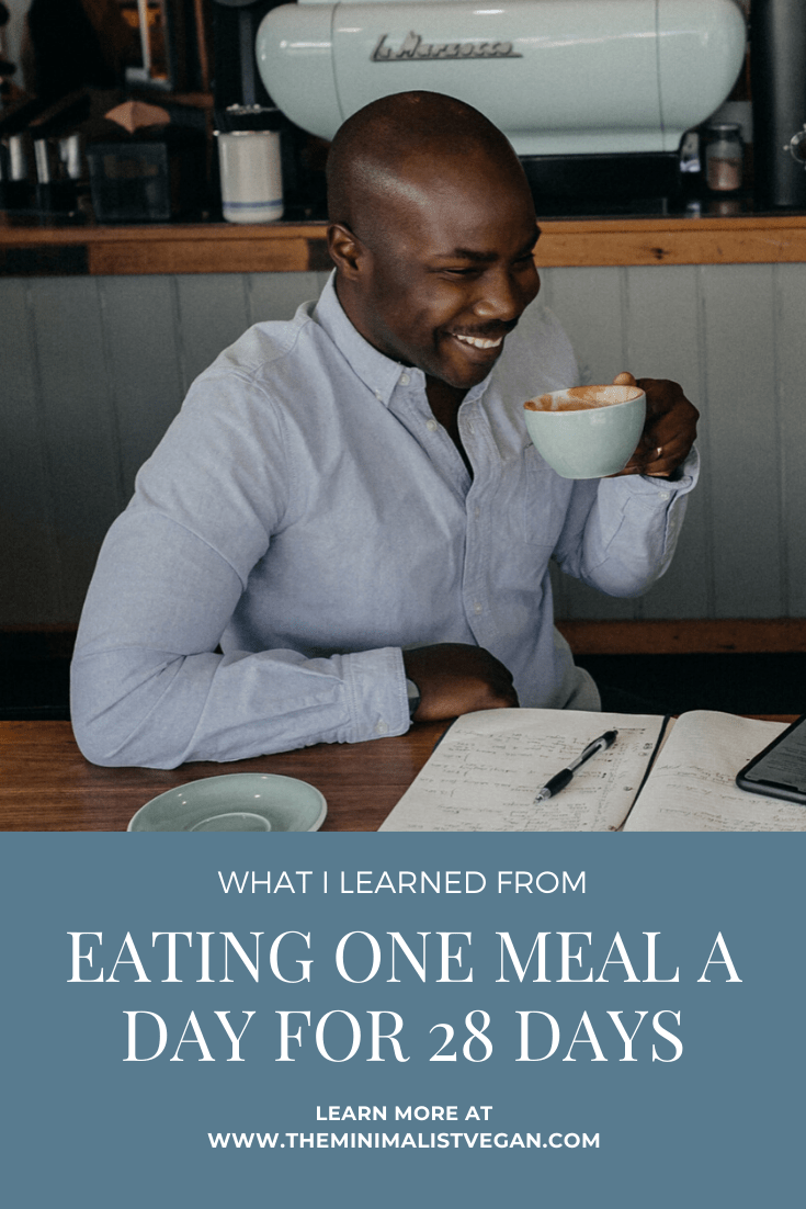 What I Learned From Eating One Meal a Day For 28 Days