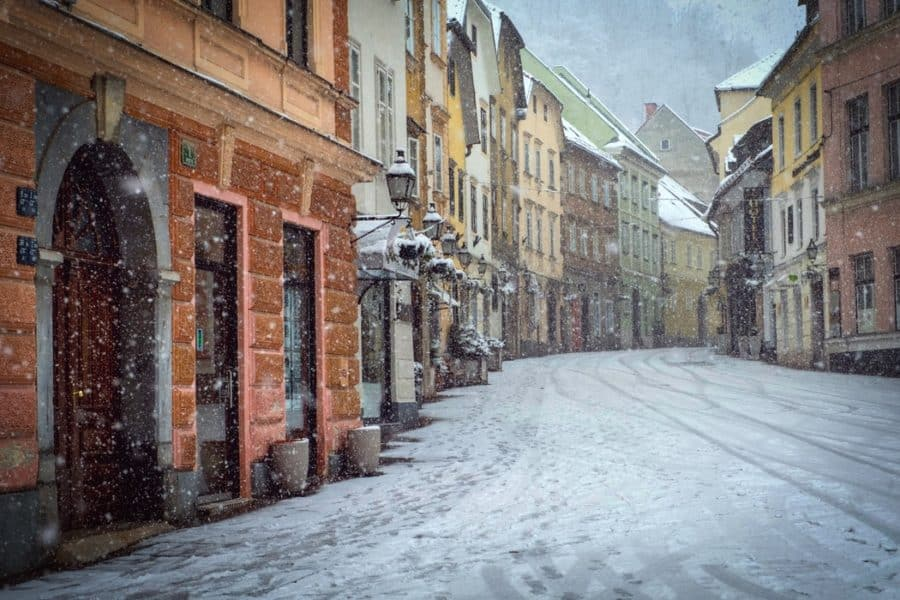Debt-Free Living - Picture of Ljubljana Old Town