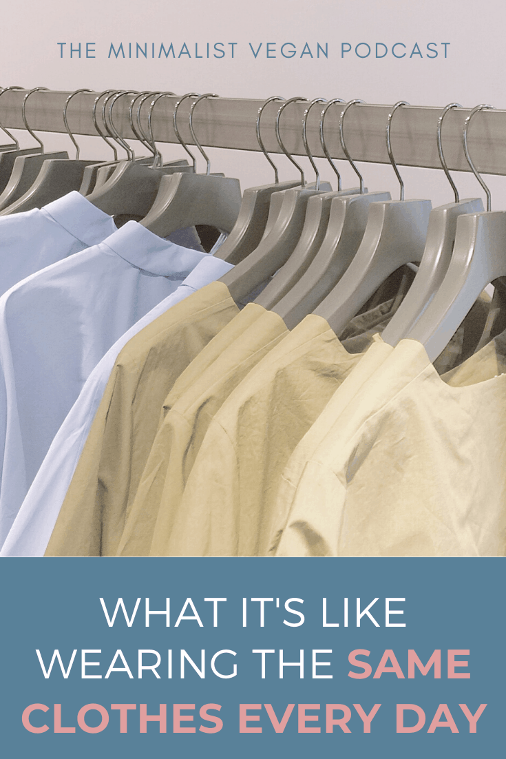 What It's Like Wearing The Same Clothes Every Day
