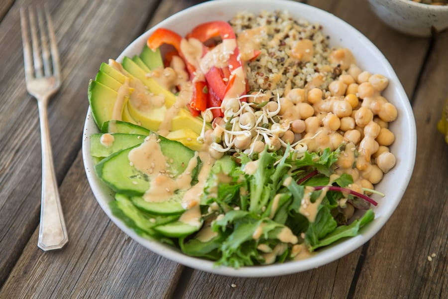 How to go vegan - Buddha Bowl