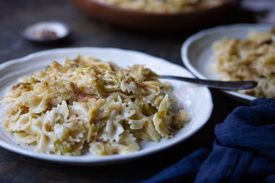 3-Ingredient cabbage pasta