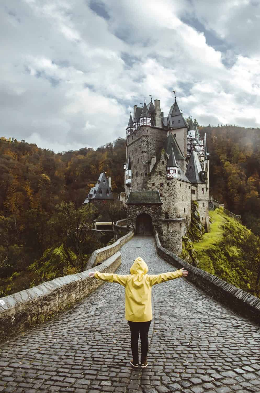 Visiting a castle