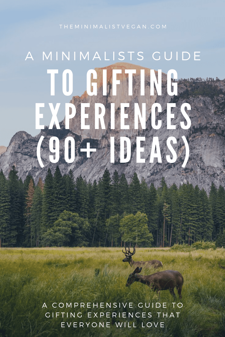 minimalists guide to gifts