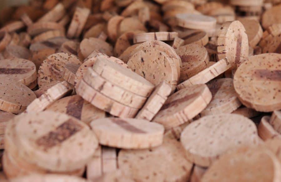 Cork pieces