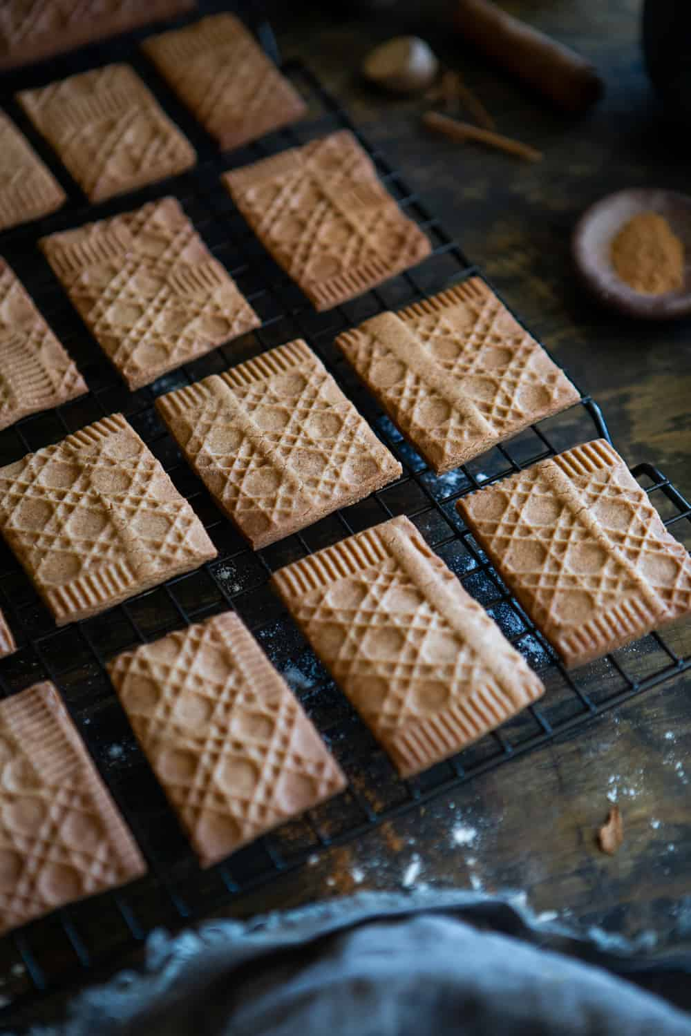 Dutch spiced biscuits