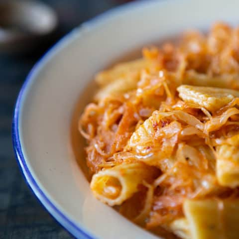 Quick and Easy Sauerkraut Pasta