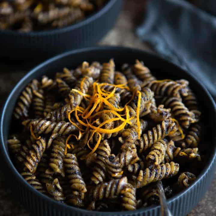 Sweet Poppy Seed Pasta