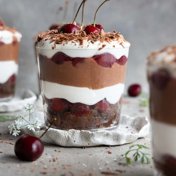 Vegan Black Forest Trifle
