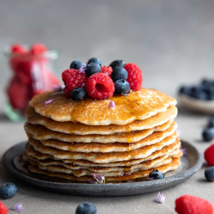 Easy Vegan Paleo Pancakes (Grain-Free)